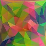 Χρωματισμένο σύγχρονο polygonal υπόβαθρο Στοκ φωτογραφία με δικαίωμα ελεύθερης χρήσης
