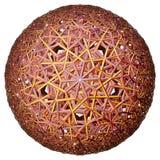 Χρωματισμένο υπερβολικό tessellation στοκ εικόνα με δικαίωμα ελεύθερης χρήσης