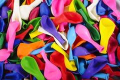Χρωματισμένο υπόβαθρο μπαλονιών Στοκ Φωτογραφίες