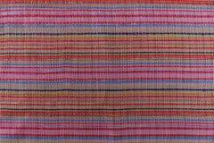 Χρωματισμένο υπόβαθρο υφάσματος λωρίδων ύφασμα ζωηρόχρωμο μοντέρνο διάνυσμα σύστασης προτύπων μόδας Στοκ Φωτογραφίες