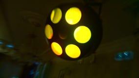 Χρωματισμένο φως disco λαμπυρίσματος φιλμ μικρού μήκους