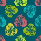 Χρωματισμένο φύλλα σχέδιο τυπωμένων υλών Στοκ φωτογραφίες με δικαίωμα ελεύθερης χρήσης