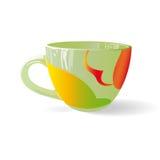 Χρωματισμένο φλυτζάνι 003 Στοκ Εικόνα