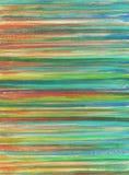 Χρωματισμένο χέρι γραφικό στοιχείο watercolor abstract background striped διανυσματική απεικόνιση