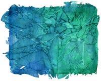Χρωματισμένο χέρι υπόβαθρο τεχνών watercolor Στοκ φωτογραφία με δικαίωμα ελεύθερης χρήσης