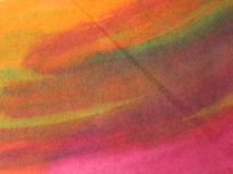 Χρωματισμένο χέρι υπόβαθρο Watercolor Στοκ εικόνα με δικαίωμα ελεύθερης χρήσης