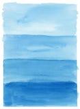 Χρωματισμένο χέρι υπόβαθρο watercolor Στοκ Φωτογραφία