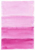 Χρωματισμένο χέρι υπόβαθρο watercolor Στοκ φωτογραφίες με δικαίωμα ελεύθερης χρήσης