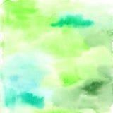 χρωματισμένο χέρι watercolor ανασκό&pi ελεύθερη απεικόνιση δικαιώματος