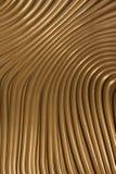 χρωματισμένο χρυσό μέταλλ&omi Στοκ φωτογραφία με δικαίωμα ελεύθερης χρήσης