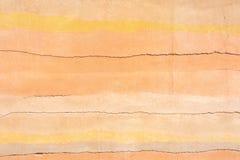 Χρωματισμένο concret υπόβαθρο ως σύμβολο των άμμων ερήμων Στοκ Φωτογραφία