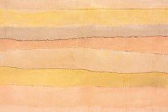 Χρωματισμένο concret υπόβαθρο ως σύμβολο των άμμων ερήμων Στοκ φωτογραφία με δικαίωμα ελεύθερης χρήσης