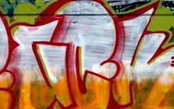 χρωματισμένο gaffiti Στοκ Εικόνες
