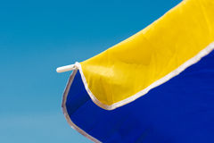 Χρωματισμένο parasol Στοκ φωτογραφία με δικαίωμα ελεύθερης χρήσης