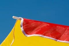 Χρωματισμένο parasol Στοκ εικόνες με δικαίωμα ελεύθερης χρήσης