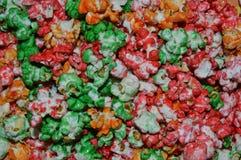 Χρωματισμένο Popcorn Στοκ εικόνες με δικαίωμα ελεύθερης χρήσης