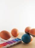 Χρωματισμός αυγών Στοκ Εικόνα