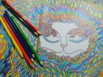 χρωματισμός Στοκ φωτογραφία με δικαίωμα ελεύθερης χρήσης