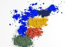 Χρωστικές ουσίες χρώματος Στοκ εικόνα με δικαίωμα ελεύθερης χρήσης