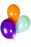 Χρόνια πολλά διακόσμηση μπαλονιών κομμάτων Στοκ φωτογραφία με δικαίωμα ελεύθερης χρήσης