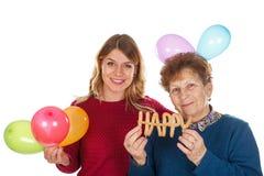Χρόνια πολλά, Grandma Στοκ Εικόνες