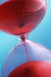 χρόνος άμμου Στοκ εικόνα με δικαίωμα ελεύθερης χρήσης