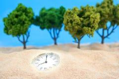 χρόνος άμμων Στοκ εικόνες με δικαίωμα ελεύθερης χρήσης