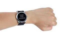 χρόνος έννοιας αλλαγής Στοκ Εικόνα