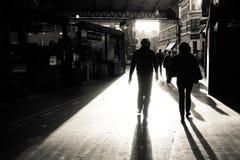 Χρόνος λήξης της προθεσμίας υποβολής στην αγορά δήμων Στοκ Φωτογραφίες