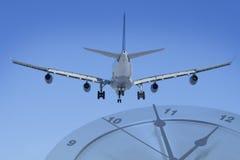 χρόνος αεροπλάνων Στοκ εικόνα με δικαίωμα ελεύθερης χρήσης