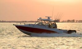 χρόνος αλιείας Στοκ Εικόνες