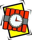 χρόνος βομβών Στοκ εικόνες με δικαίωμα ελεύθερης χρήσης