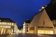 Χρόνος βραδιού οικοδόμησης του Κοινοβουλίου Στοκ εικόνες με δικαίωμα ελεύθερης χρήσης