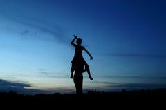 Χρόνος βραδιού Στοκ εικόνες με δικαίωμα ελεύθερης χρήσης