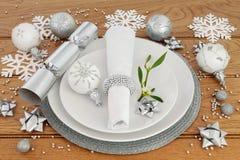 Χρόνος γευμάτων Χριστουγέννων Στοκ Εικόνες