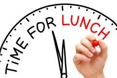 Χρόνος για το μεσημεριανό γεύμα Στοκ φωτογραφία με δικαίωμα ελεύθερης χρήσης