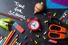 Χρόνος για το σχολείο στοκ φωτογραφία με δικαίωμα ελεύθερης χρήσης