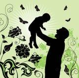 χρόνος γιων οικογενεια ελεύθερη απεικόνιση δικαιώματος