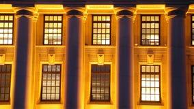 χρόνος δομών νύχτας Στοκ φωτογραφία με δικαίωμα ελεύθερης χρήσης