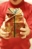 χρόνος δώρων Στοκ Εικόνες