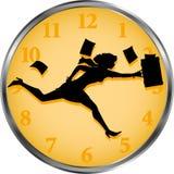 χρόνος επιχειρηματιών Στοκ Εικόνες