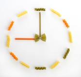 χρόνος ζυμαρικών Στοκ εικόνες με δικαίωμα ελεύθερης χρήσης