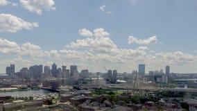 Χρόνος ημέρας στη Βοστώνη απόθεμα βίντεο