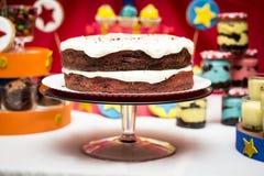 Χρόνος κέικ! Στοκ Φωτογραφία