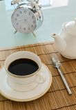 Χρόνος καφέ πρωινού Στοκ φωτογραφία με δικαίωμα ελεύθερης χρήσης