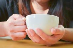 Χρόνος καφέ το πρωί, διακοπές Στοκ εικόνες με δικαίωμα ελεύθερης χρήσης