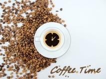 χρόνος καφέ Στοκ Φωτογραφίες