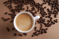 χρόνος καφέ kaffeezeit Στοκ Εικόνα