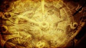 χρόνος κολάζ Στοκ Εικόνες
