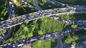 Χρόνος κυκλοφοριακής συμφόρησης και ώρας κυκλοφοριακής αιχμής φιλμ μικρού μήκους
